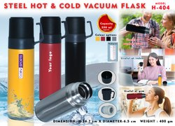 Steel Hot & Cold Vacuum Flask H-404