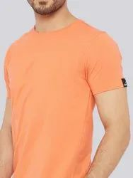 Men's Casual Round Plain T-Shirts
