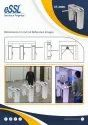 eSSL Face Tripod Turnstile Integrated with uFace