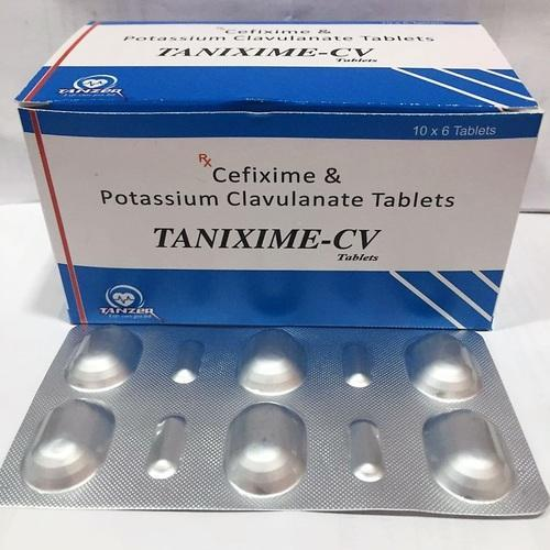 Cefixime Clavulanate Potassium, Packaging Type: Strips, Carton