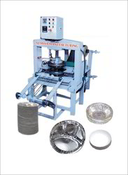 Fully Automatic Thali & Dona Making Machine