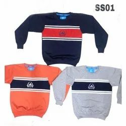Cotton Casual Wear Kids Sweat Shirt, Age: 7 To 15 Years