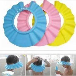 non brand Rubber Adjustable baby shower cap