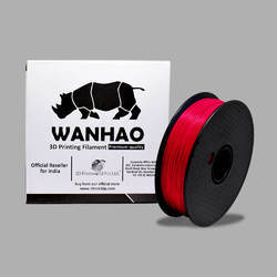 Wanhao Original Red PLA 1.75mm 3D Printer Filament