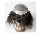 8x5 Inch Hair Toupee And Human Hair Black