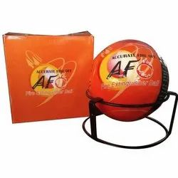 147 Mm Carbon Steel A B C Fire Fighting Ball, Capacity: 1.3 Kg