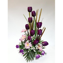 KAR-7203 Tulip Artificial Arrangement