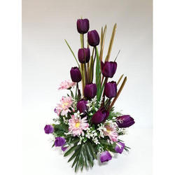 Artificial Tulip Arrangement KAR-7203