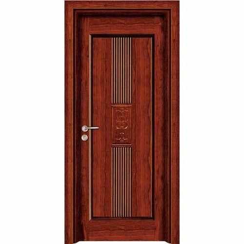 Solid Wood Hinged Wooden Main Door