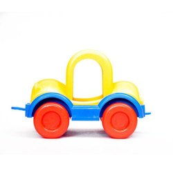 Indoor Plastic Push and Pull Toy Car, Child Age Group: 5-7 Years