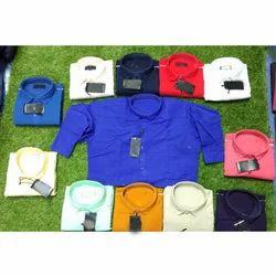 Cotton Full Sleeve Men Shirts, Size: M, L & XL