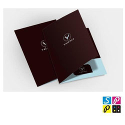 Folder Designing And Printing Service
