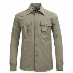 Cotton Mens Cargo Shirt