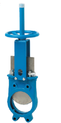 Pneumatic Wafer Unidirectional Knife Gate Valve