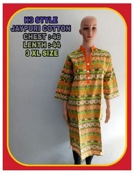 Jaipuri Design Cotton Kurti