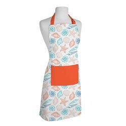 Apron with Ice Cream Printed