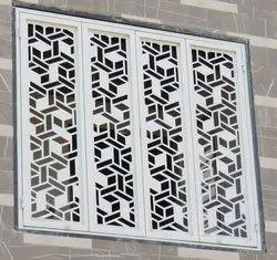 Window steel door