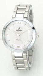 Women Round John Klein Ladies Watch stainless Steel, For Daily, Model Name/Number: Jkls