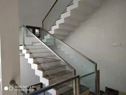 S S Glass Railing
