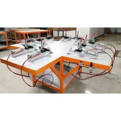 Cotton T-shirt Printing Machine Screen stretching clamp (exposure), For Textile Industry