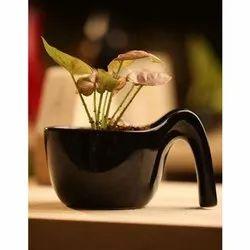 Ceramic Indoor Table Top Flower Pot