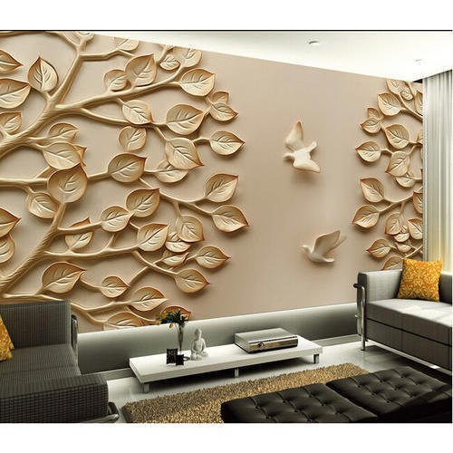 Pvc Wallpaper Size 21 X33 Rs 700 Roll Vishal Interior Id 22278158688
