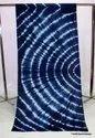 Shibori Tie Dye Natural Color 100% Cotton Fabric
