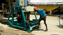 860 Triple Vibrator Concrete Block Machine Coimbatore