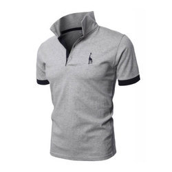 Polo T Shirt Polo Neck Mens Half Sleeve Cotton T-Shirt