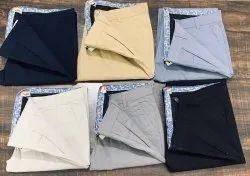 Multicolor Men Branded Cotton Chinos Pant