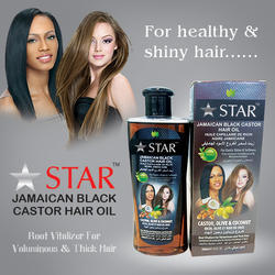 Strengthen And Strengthen Bottle Jamaican Castor Hair Oil, For Personal And Parlour