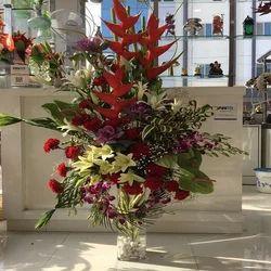 Babita's Decor Polyester Multicolor Flower Arrangement Services