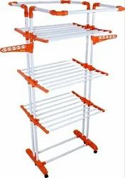 Parasnath Stainless Steel 3 Poll Cloth Drying Stand