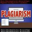 Research Paper Plagiarism Checking Services Consultancy