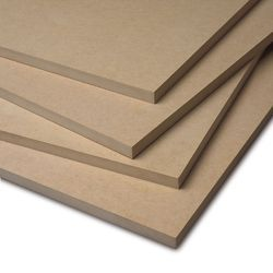imported wooden fibers MDF Board, Thickness: From 2mm To 25mm, Medium Density