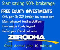 Zerodha Demate And Trading Account