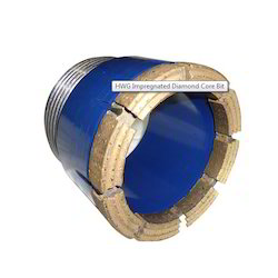 HWG Impregnated Diamond Core Bit