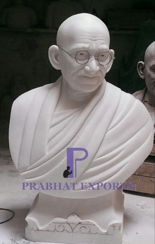 Marble Gandhi Ji Bust