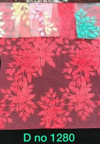 Net Embroidery Fabrics, Use: Sherwanis & Kurtas