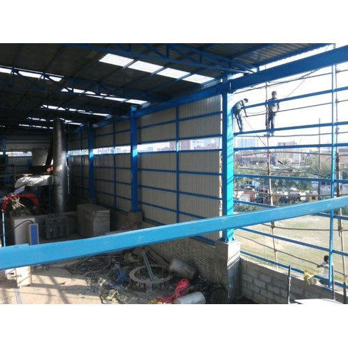 Mild Steel Dairy Farm Sheds Fabrication Service
