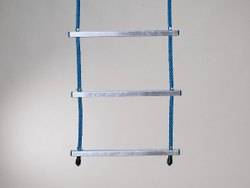 Aluminum Rung Rope Ladder