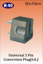 K-90 3 Pin Universal Conversion Plug