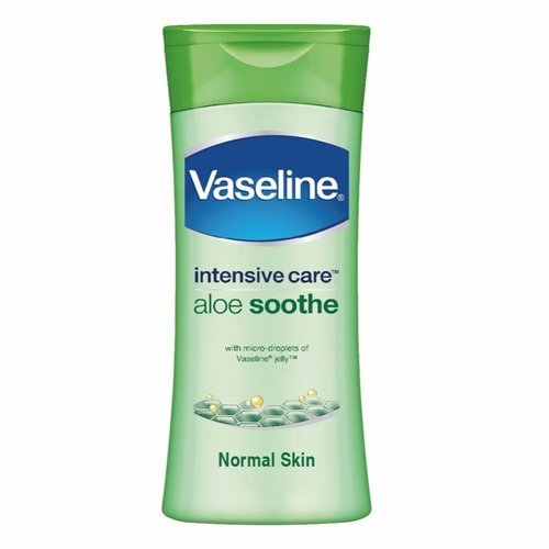 Vaseline intensive care aloe soothe body lotion, Pack Size: 200 ML