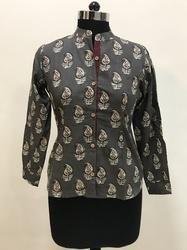 Paisley Printed Ladies Shirt