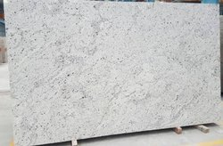 Slab White Galaxy Granite, For Countertops, Thickness: 15-20 mm
