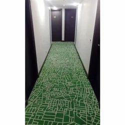 Printed Rectangular Axminster Floor Carpet