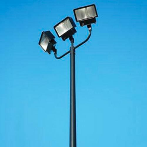 Mild Steel Outdoor Light Pole