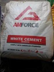 Amforce白水泥,包装规格:25公斤一袋,水泥标号:一般高品位
