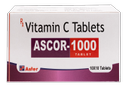 Vitamin C 1000mg Tablets ( Ascor - 1000)