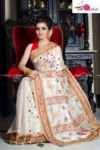 Semi Assam Silk Saree